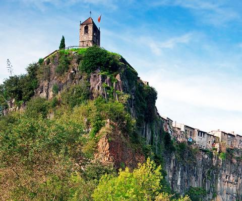 Falaises basaltiques de Castellfollit de la Roca